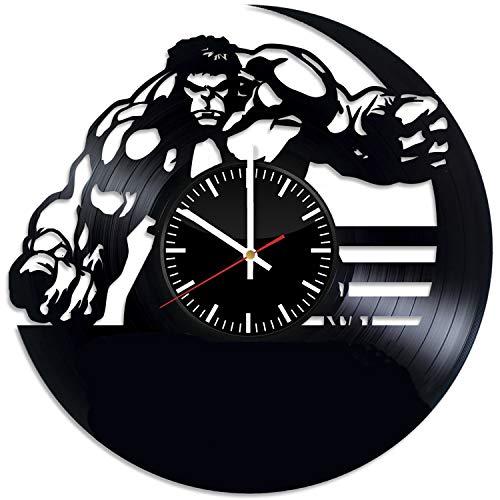 Best Lp Gifts For A Men - Hulk Handmade Ornament Vinyl Wall Clock