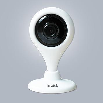 IMATEK V203 Blanco,IP Cámara Vigilancia 720p H.264 HD de red inalámbrica,