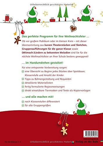 Weihnachtsfeier Theaterstück.20 Mini Aufführungen Für Weihnachtsfeiern In Der Grundschule Schöne
