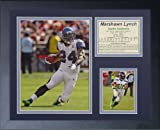 """Legends Never Die """"Marshawn Lynch Framed Photo Collage, 11 x 14-Inch"""