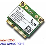 Intel Wifi Wimax Link 6250 ANX WIMAX Wireless Card 622ANXHMW 802.11a/b/g/n 300 Mbps MIMO