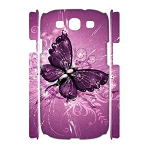 VNCASE Butterfly Phone Case For Samsung Galaxy S3 I9300 [Pattern-1]