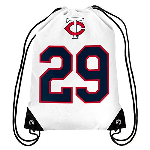 Minnesota Twins Carew R. #29 Hall Of Fame Drawstring Backpack (Minnesota Bag Twins)