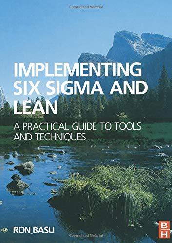 Implementing Six Sigma and Lean: Amazon.es: Basu, Ron: Libros ...