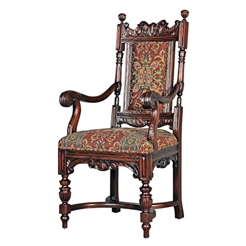 Design Toscano Grand Classic Edwardian Dining Armchairs