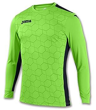 Joma - Camiseta Portero Derby II Verde flúor m l para Hombre  Amazon.es   Deportes y aire libre 3e939932308d5