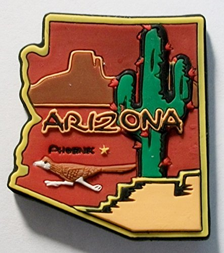 Magnet Arizona (Arizona Phoenix Multi Color Fridge Magnet)