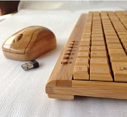 bamboo keyboard and mouse