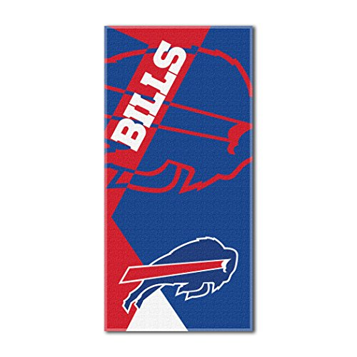 Puzzle Bills Buffalo - NFL Buffalo Bills Puzzle Beach Towel, 34