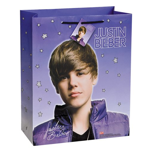 Large Justin Bieber Gift Bag -