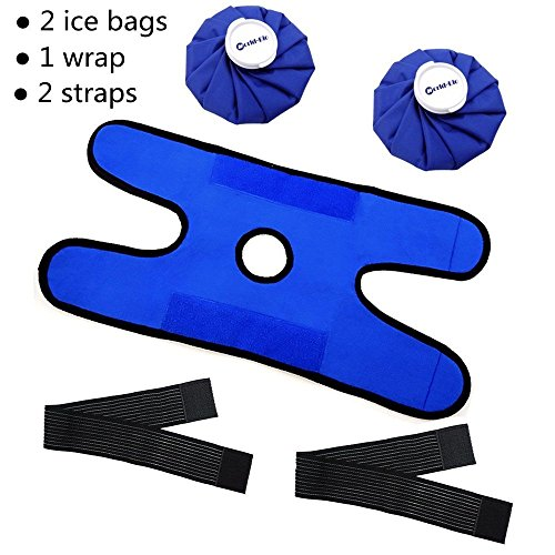 2 Reusable Hot Cold Therapy Ice Bag Pack (9