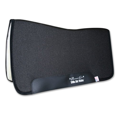 Professionals Choice 30X32 Equine Smx Air-Ride All Around Saddle Pad (Black) ()