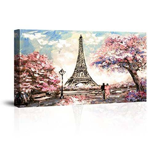 DINGH Waterproof Canvas Prints Wall Art,IPX8 Framed Modern Oil Paintings for Bedroom,Ready to Hang,0.78