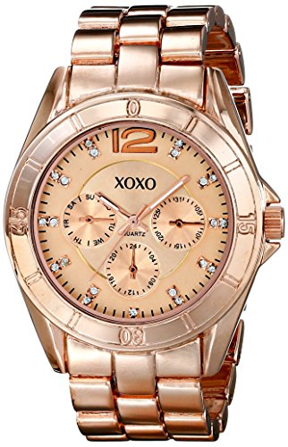 XOXO Women's XO5656 Rose Gold-Tone Bracelet Analog Watch by XOXO