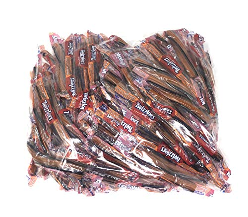 Twizzlers Pull and Peel, Orange & Black Cherry, Halloween Edition Candy 4 Pound Bag for $<!--$14.99-->