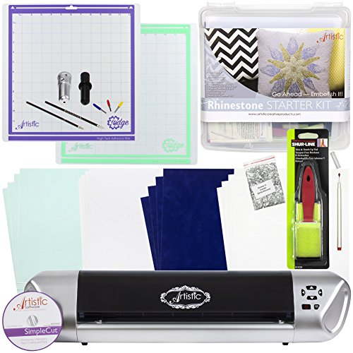 Janome Artistic Edge 12IN Craft Cutter (Rhinestone Starter Kit) by Janome