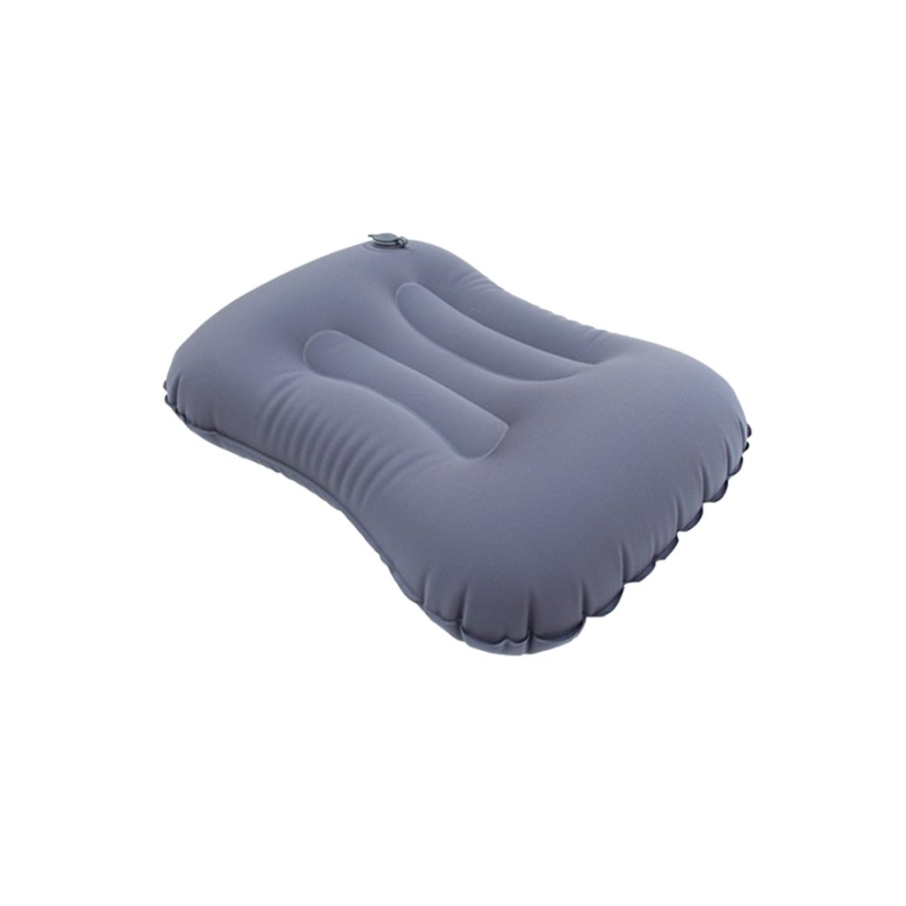 WINOMO超軽量キャンプ枕インフレータブルエア枕旅行枕compressibleコンパクト快適な人間工学のアウトドア(グレー) B078JKRMJL