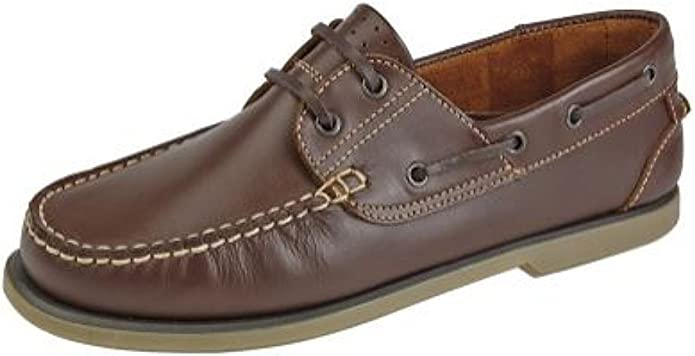 Dek - Náuticos para Hombre marrón marrón 44 (10 UK)