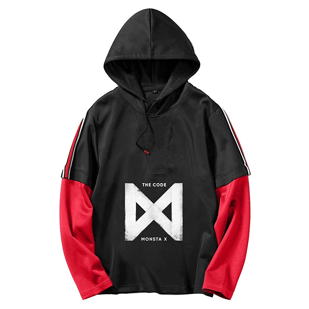 Monsta X Pullover Spring New Trend Loose Classic Sweater Fresh and Comfortable Pullover Unisex