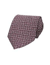 Guccia 336429 6273 - Corbata de seda multicolor para hombre