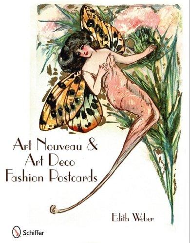 Art Nouveau & Art Deco Fashion Postcards ()