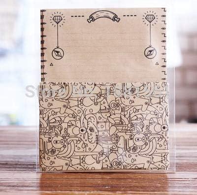FANGDAHAI BriefpapierSupplies 12pcs/Set 4 envelops + 8 writting paper Maze Type envelopes sobres papel letter paper set stationery gift