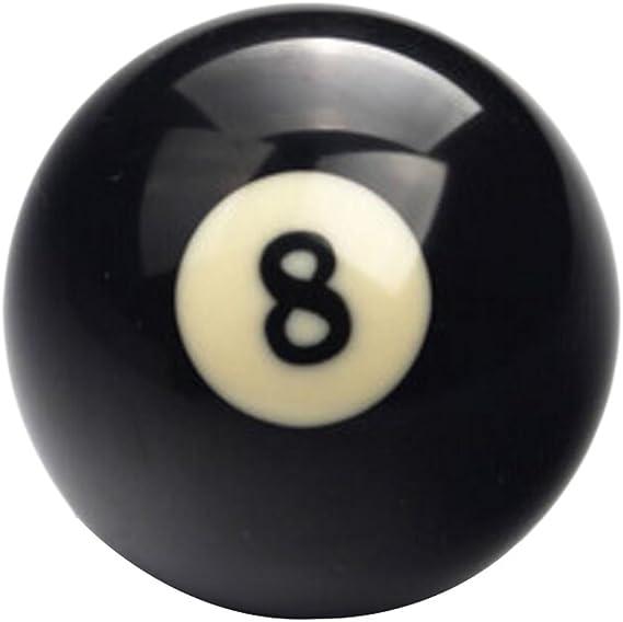 Black Temptation 1 PCS Cue Sport Snooker USA Pool Bolas de Billar 57.2 mm / 2-1/4 - NO.8: Amazon.es: Deportes y aire libre