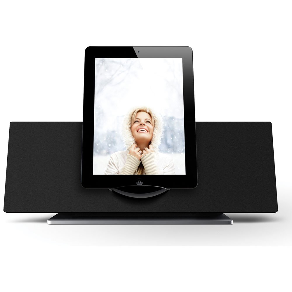 Coby CSMP185 Vitruvian Speaker System for iPad/iPod and iPhone (Black) (Discontinued by manufacturer)