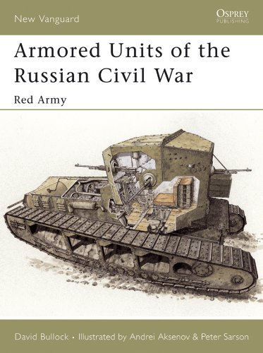 Armored Units of the Russian Civil War: Red Army (New Vanguard Book 95)
