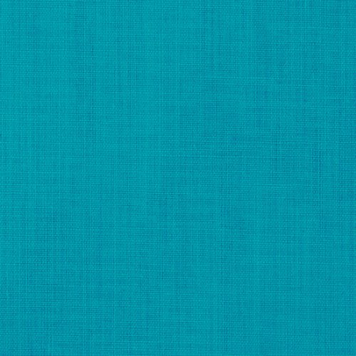 45'' Wide Cotton Blend Broadcloth Turquoise Fabric By The Yard