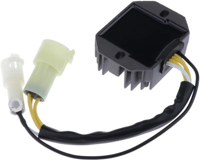 Gazechimp Voltage Regulator Rectifier Assembly Marine Accessories Replacement Part Fits for Suzuki 40HP 50HP Outboard, 32800-87J00