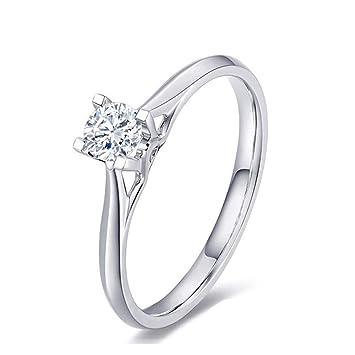 Viwiv Gia Diamond Femme Bague Decoration Or 18k Cadeau De