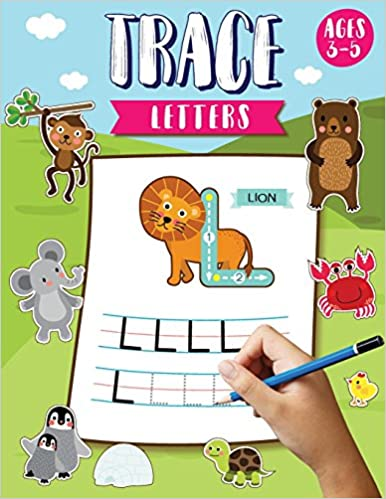 trace letters ages 3 5 alphabet tracing letters workbook preschool letter tracing books for kids ages 3 5 large print size 85x11 inches natalie
