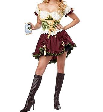 Dcola Disfraz De Halloween Para Mujer, Disfraz De Oktoberfest ...