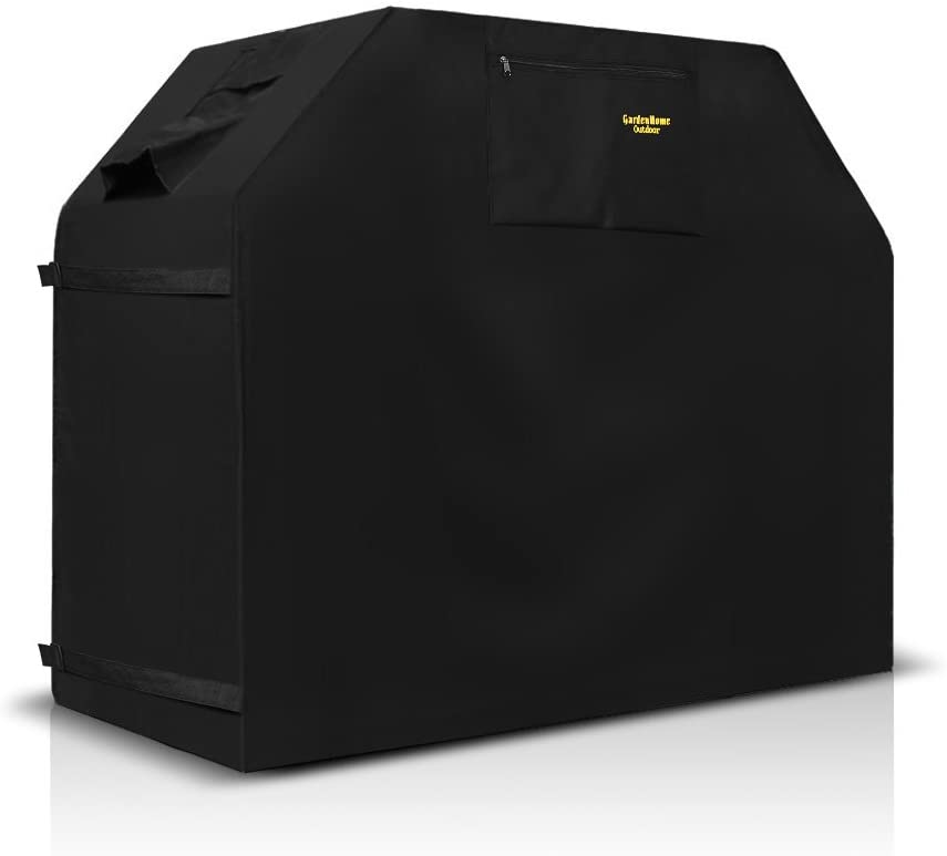 Felicite Home 64 Inch Grill Cover BBQ Grill Cover,Gas Grill Cover for Weber,Water Resistant,Black