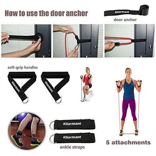 Exercise Bands Door Anchor: Kllarmant Resistance Bands, Exercise Bands With Door