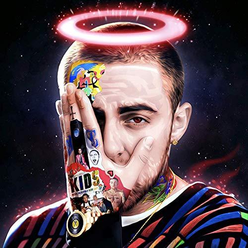 target achiver poster Mac Miller Death Tribute Hip-Hop Custom Album Mashup 12x18