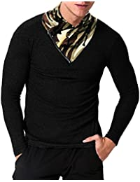 "<span class=""a-offscreen"">[Sponsored]</span>Men's Long Sleeve Pullover Slim Fit Casual Turtleneck Lightweight T Shirts"