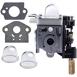 HIPA A021000740 RB-K75 Carburetor with Gasket / Primer Bulb for ECHO GT-200 GT-200I GT-200R GT-201I GT-201R Grass Trimmer