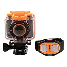 WASPcam Action Sports Camcorder with Dual Remote