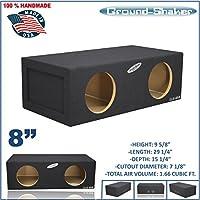 8 Dual Sealed Extra Large 8 Sub Box Sub woofer Enclosure