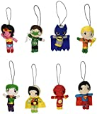 DC Comics Superheroes String Dolls ~ 8 Piece Set