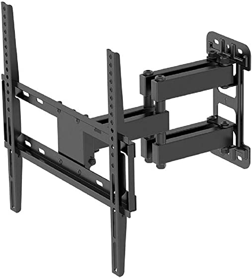 Monoprice Titan Series Full-Motion Articulating TV Wall Mount Bracket – for TVs 22109 to 55in Max Weight 99lbs VESA Patterns Up to 400×400 Rotating