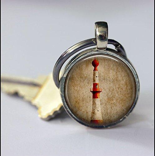 Llavero de encanto de faro, accesorios de llavero, regalo ...