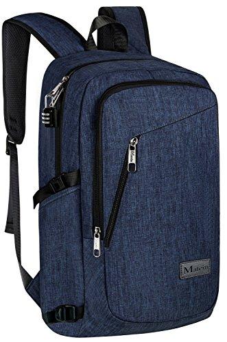 Travel Outdoor Computer Backpack Laptop bag 15.6''(blue) - 4
