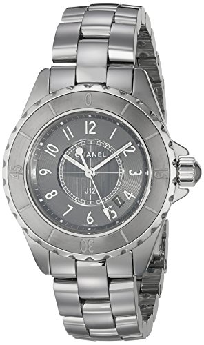 Chanel Women's H2978 Analog Display Quartz Grey - Chanel Grey