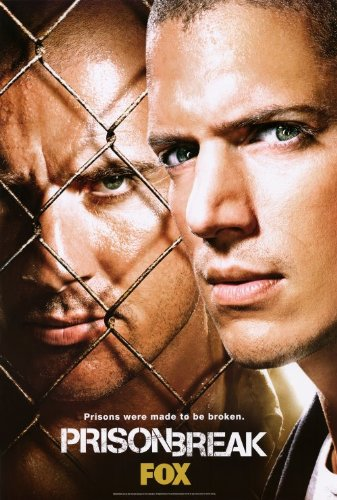 Prison Break Poster Tv E 27X40 Dominic Purcell Wentworth Miller Robin Tunney