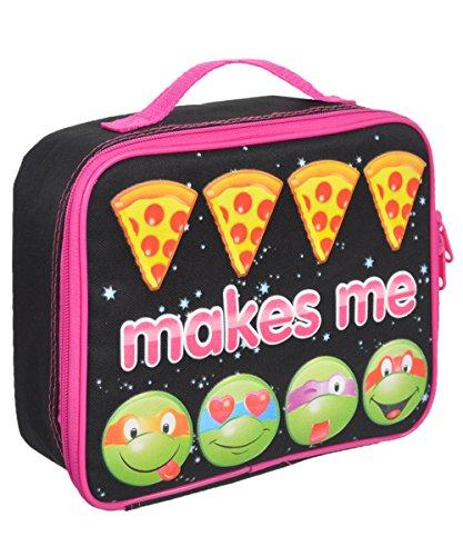 Nickelodeon Ninja Turtles Girls Lunch Bag (Classy Lunch Bag)