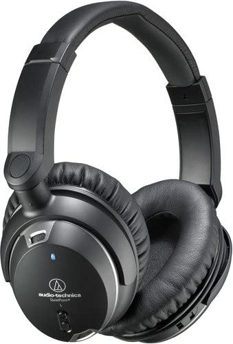 Audio-Technica ATH-ANC9 QuietPoint Active Noise-Cancelling Headphones