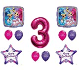 SHIMMER AND SHINE 3rd Third HAPPY Birthday Party